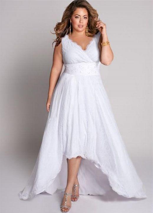 cutethickgirls.com plus size casual wedding dresses (05 .