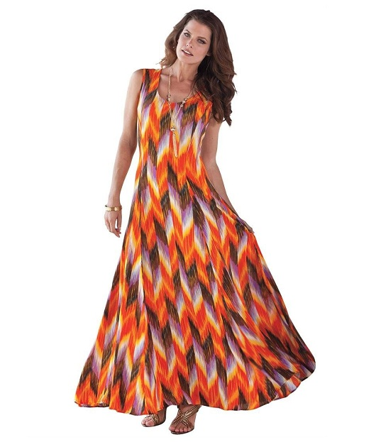 Cute plus size maxi dresses of 2019 up to 5x plus si