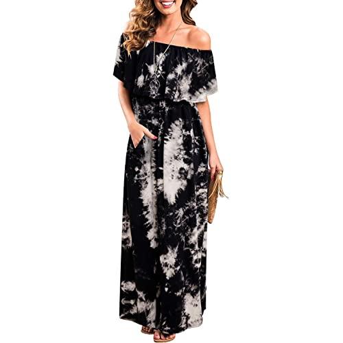 Plus Size Off The Shoulder Maxi Dress: Amazon.c