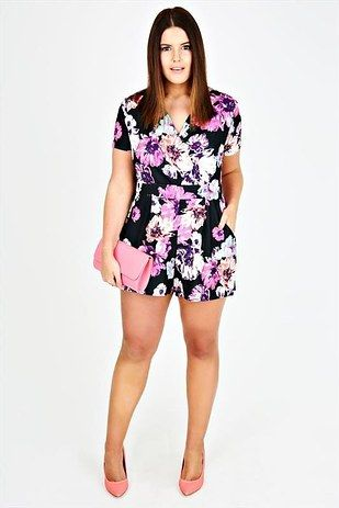 How to Style A Plus Size Romper – careyfashion.c