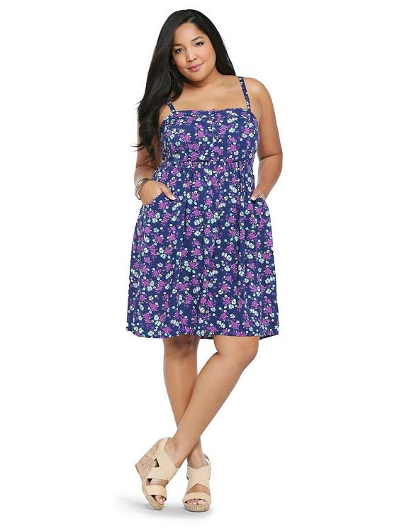 Plus size summer dresses 2018 - Summer party dress