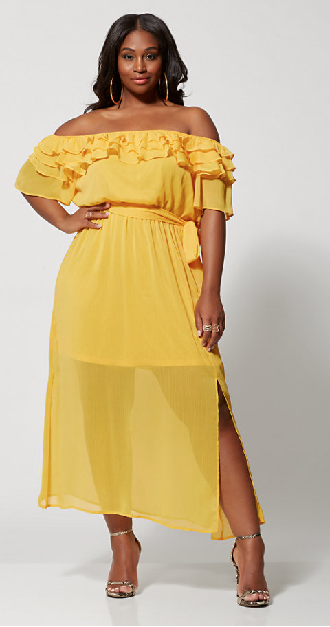 11 Plus Size Outfits For Your Next Wedding | HelloBeautif