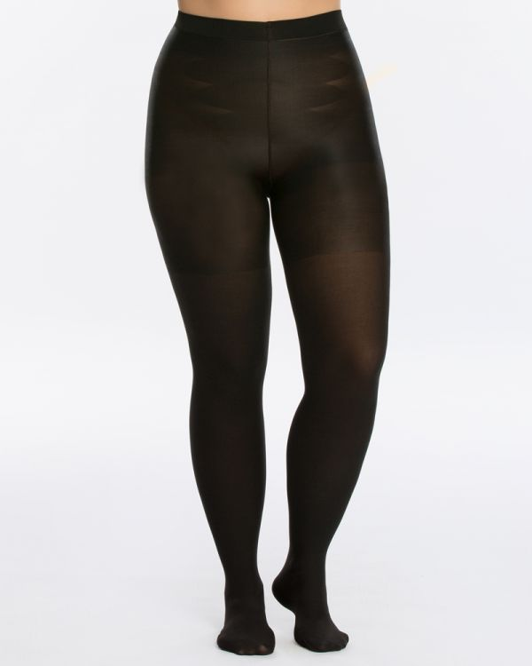 Spanx Mid Thigh Shaping Tights | Plus Size Tummy Control Tigh