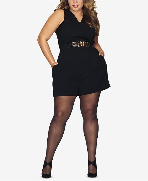 Hanes Curves Plus Size Black Out Tights & Reviews - Handbags .