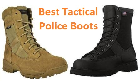 Top 15 Best Tactical Police Boots in 20