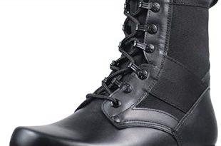 Amazon.com: PANY Men's Military Jungle Boots Outdoor Motorcycle .