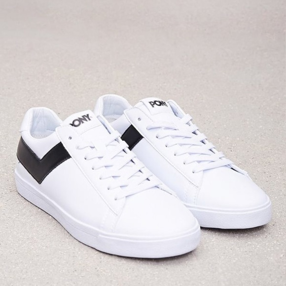 Pony Shoes | Classic Low Leather Sneakers | Poshma