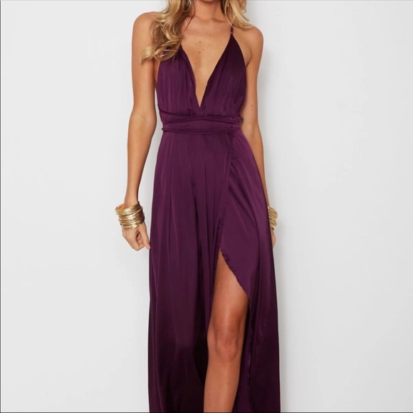 White Fox Boutique Dresses | Purple Maxi Dress | Poshma