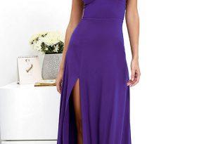 Sexy Purple Dress - Maxi Dress - Strappy Dress - $58.