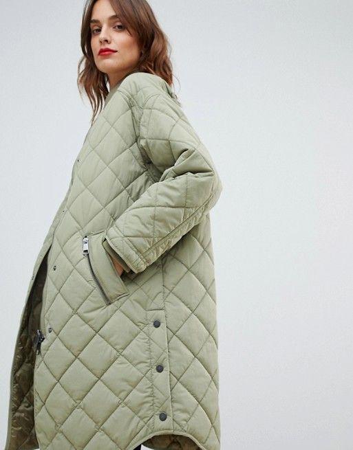 BOSS Casual | Boss Casual quilted coat | Женские куртки, Осенние .