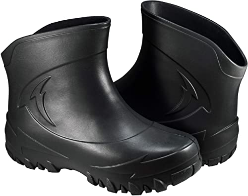 Amazon.com | Clogs Short Rain Boots for Men - Waterproof Ankle .