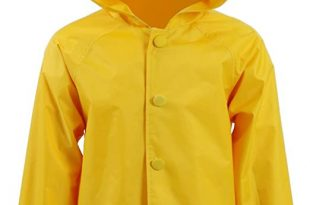 Amazon.com: Star Flower Little Girls Rain Jacket Coats with Hood .