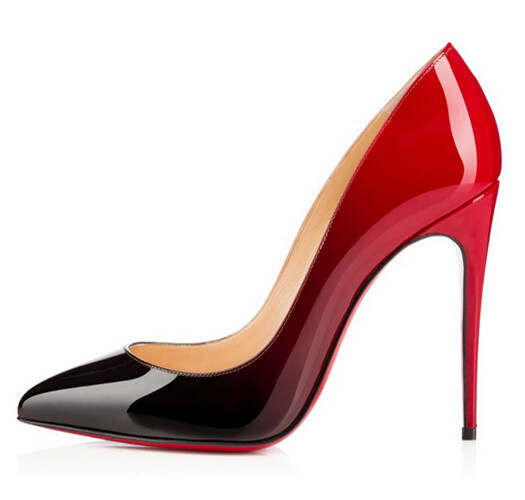 Online Shop Red Bottom High Heels Women Shoes Pumps 2015 Pointy .