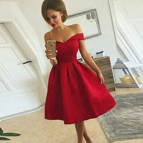 Red Cocktail Dresses 5 – thefashiontamer.c