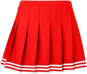 Red Tailgate Skirt – lojobands.c