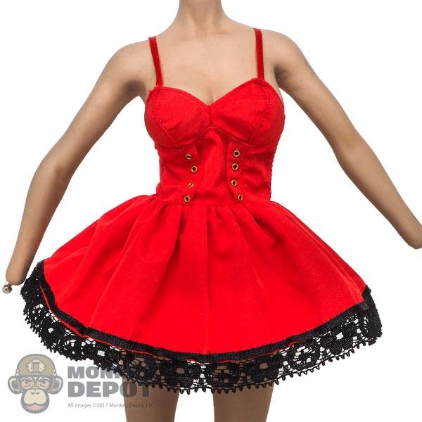 Monkey Depot - Dress: Super Duck Female Red Sundre