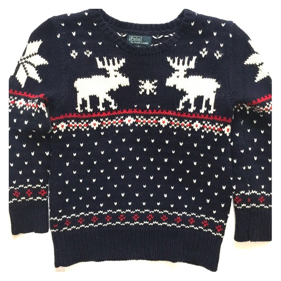 Ralph Lauren Shirts & Tops | Reindeer Sweater | Poshma