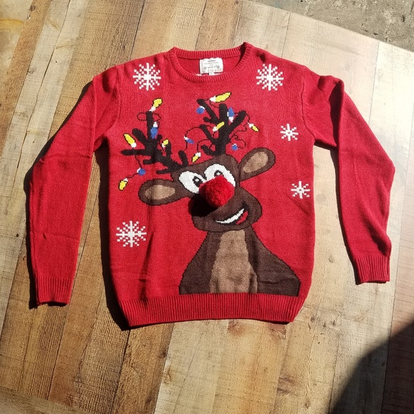 Daisys Boutique Sweaters | Reindeer 3d Ugly Christmas Sweater .