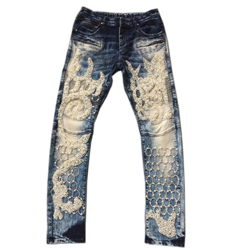 Royal Wolf Custom Rock Revival Jeans Diamond Cut Jeans Clothing .
