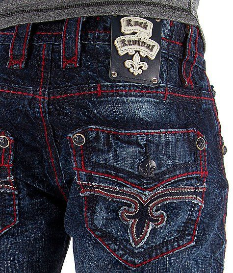 Rock Revival Dan Straight Jean - Men's Jeans | Buckle (With images .