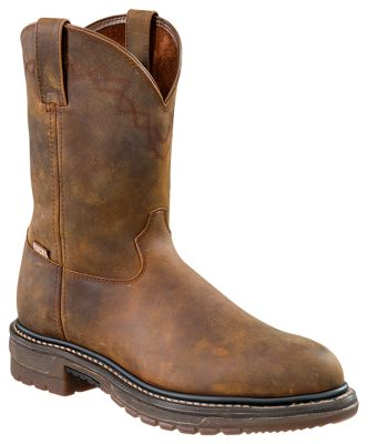 ROCKY Ride Round Toe Roper Boots for Men | Bass Pro Sho