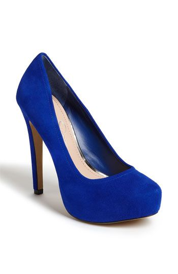 love this blue | Blue heels, Blue shoes, Royal blue hee