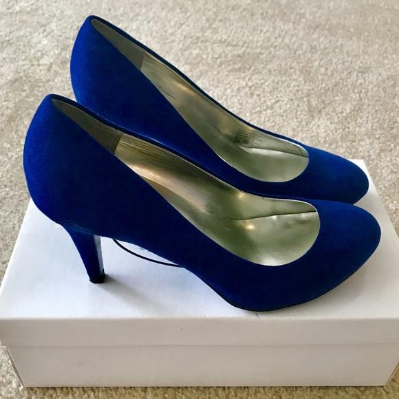 Shoes | Royal Blue Pumps For Sale | Poshma