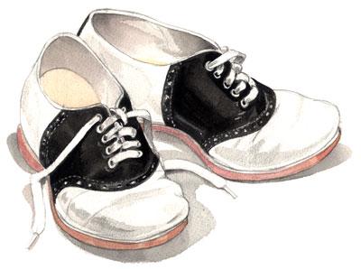 saddle shoes | every day john & wen