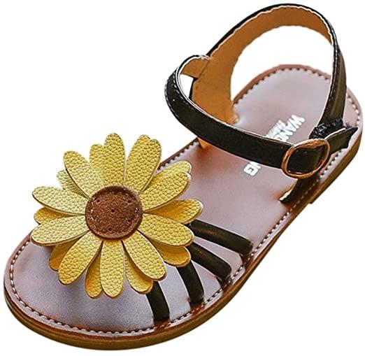 Amazon.com: Baby Girl Sandals Shoe,Todaies Toddler Kids Baby .