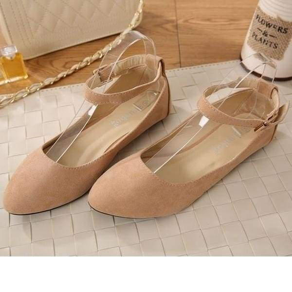 Women Fashion Sandals Shoes Casual Flats Shoes Pointed Shoes Plus .