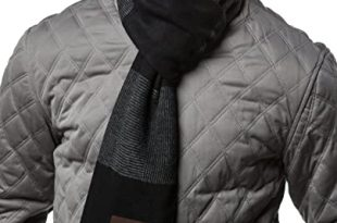 Gallery Seven Mens Scarf - 100% Cotton Winter Scarves fo Men .