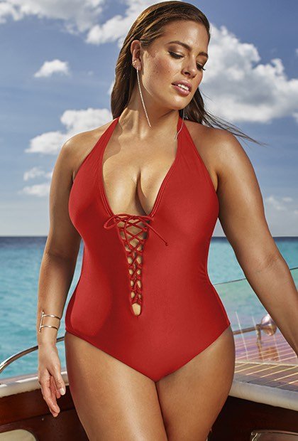 10 Sexy One Piece Plus Size Swimsuits, Plus Blogger Inspiration .