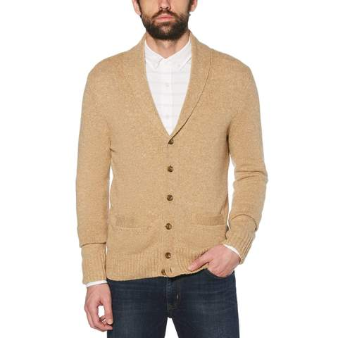 Shawl Collar Cardigan Sweater – Original Pengu