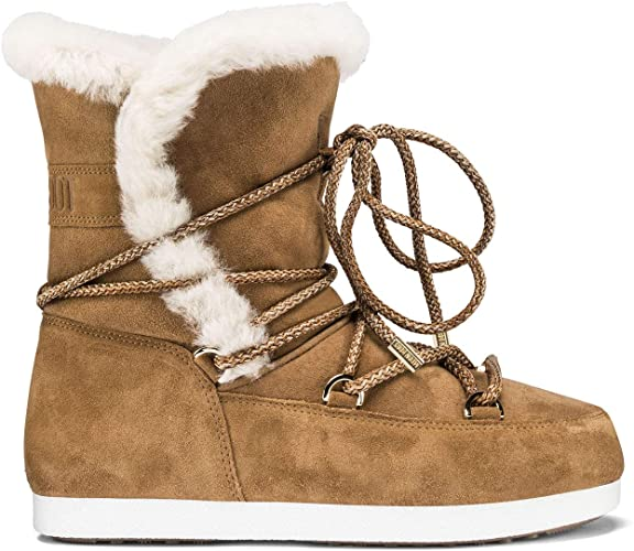 Amazon.com | Moon Boot Far Side Honey Shearling Boots | Sho