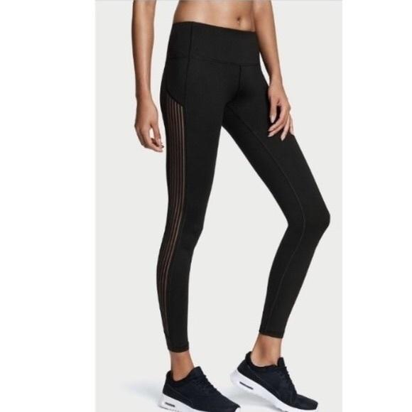 Victoria's Secret Pants | Victorias Secret Knockout Sheer Legging .