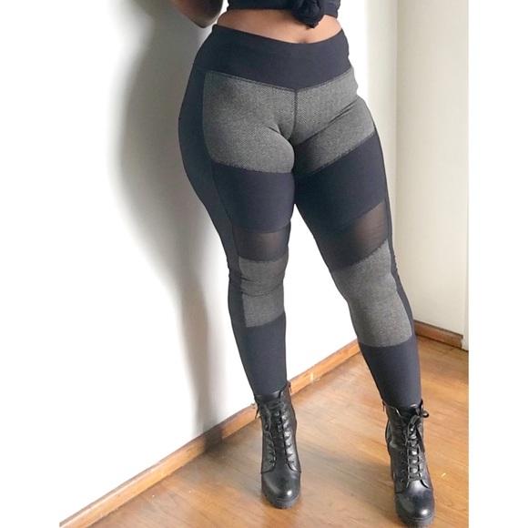 MPG Pants | Black Sheer Leggings | Poshma