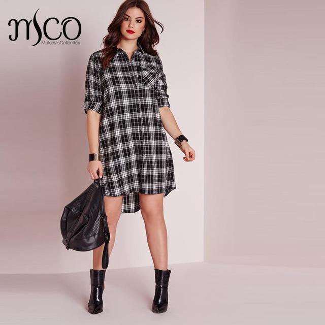 Plus Size Shirt Dresses for Women – Fashion dress