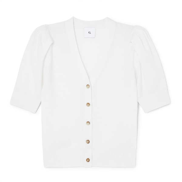 Juliette Short-Sleeve Cardigan | G. Label - Goop Sh