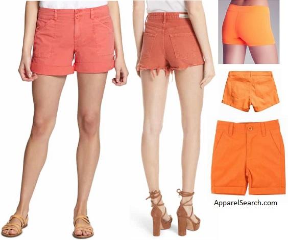 Women's Orange Shorts guide about Ladies Orange Short Pan