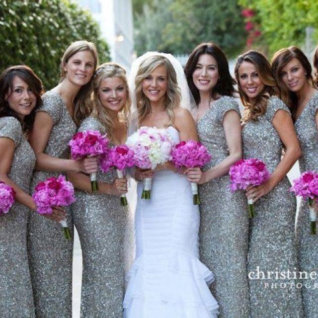 15 Pretty Perfect Sequin Bridesmaids Dresses | Sparkly bridesmaids .