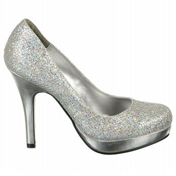 Women's Candice | Silver sparkly shoes, Sparkly shoes, Sparkly .