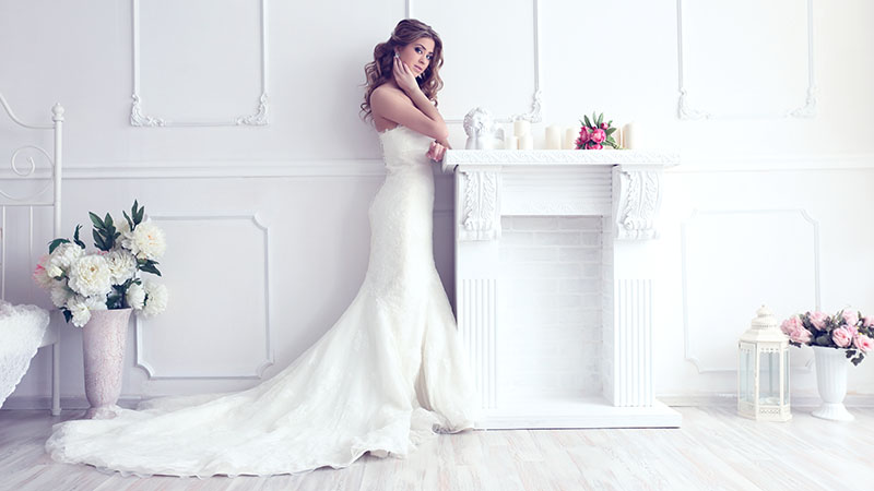 40 Simple Wedding Dresses For Your Special Day - The Trend Spott