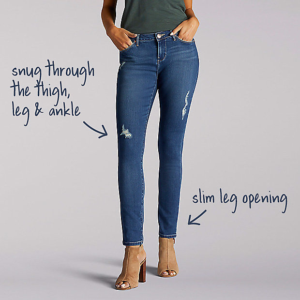 Women's Jeans Fit Guide | L