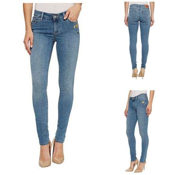 Levi's Jeans | Womens Levi 711 Skinny Fit Stretch | Poshma