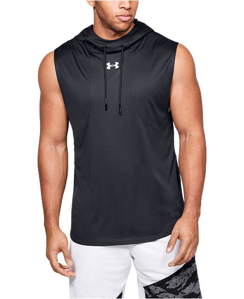 Under Armour Men's Baseline Sleeveless Hoodie & Reviews - T-Shirts .
