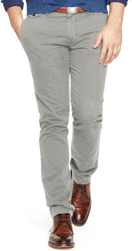 Polo Ralph Lauren Slim Fit Cotton Chino, $98 | Ralph Lauren .