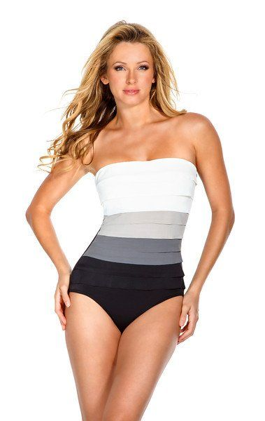 slimming swimsuits | MagicSuit Leah Neutral One Piece Slimming .