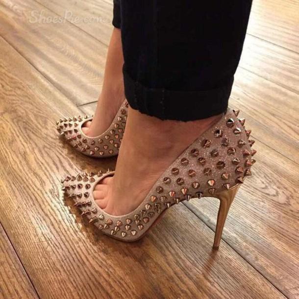 shoes, heels, high heels, nude, nude heels, nude high heels, nude .
