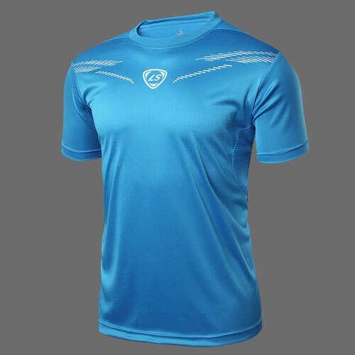 LUCKY SAILING Outdoor Men's Team Sports Tees Training Football .