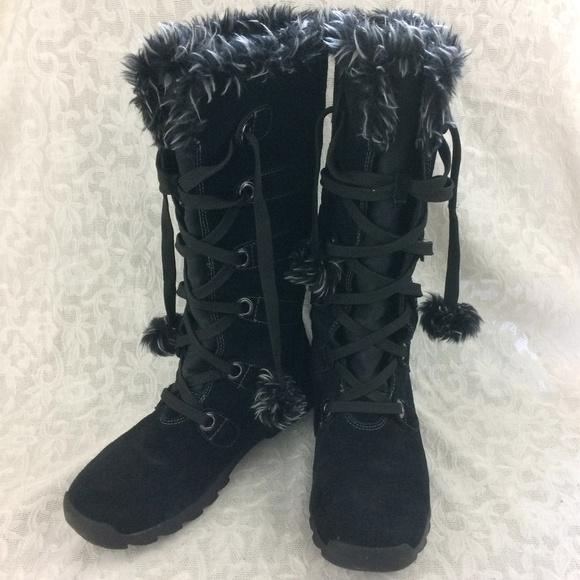 Sporto Shoes | Womens Gojo Black Winter Boots 10m | Poshma